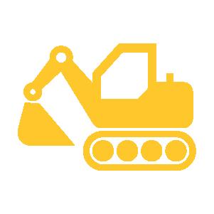Usługi koparkami – roboty ziemne